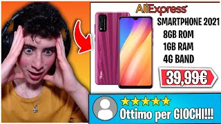 Фото UNBOXING TELEFONO Da 40€ Di AliExpress Con FACE ID!?!? *scammato*