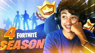 ⚔️SAISON 4 IS ARRIVAL ON FORTNITE🤩: NEW SKINS, SUPER POWER AND MORE MORE!⚔️