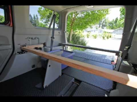 Fifth Element Camping >> Honda Element Solo Platform Bed - YouTube