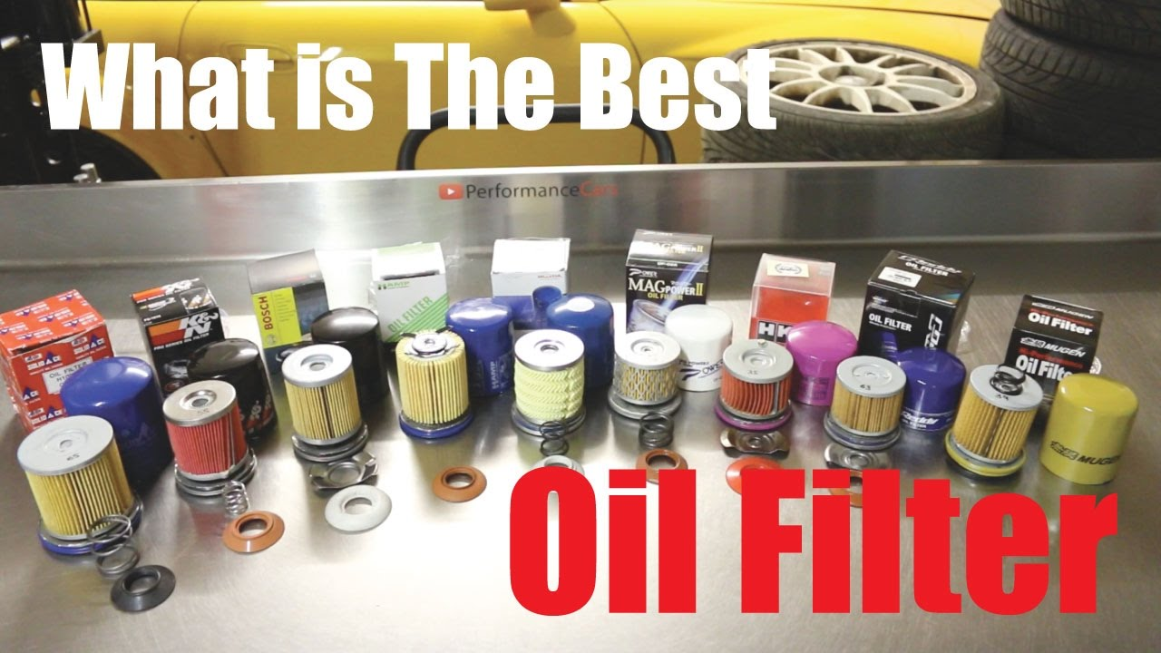 medium resolution of i cut them all up best oil filter available right now performancecars youtube