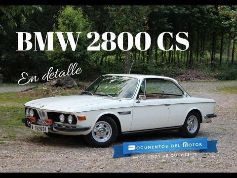 BMW E9 (2/2)- El 2800 CS en detalle