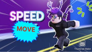 Speed City Roblox! How To Speed Run