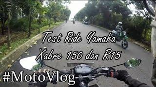 Motovlog #22 Iseng-Iseng Test Ride Yamaha Xabre dan R15