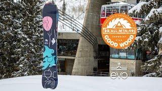 GNU Müllair Review: Men's All-Mountain Winner – Good Wood Snowboard Test 2018-2019