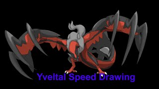 Yveltal Pokemon Speed Draw