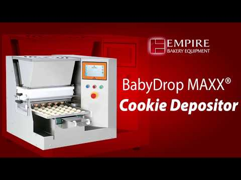 BabyDrop Maxx Table-Top Cookie Depositor   Empire Bakery Equipment