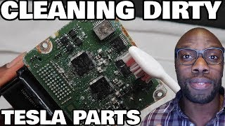 Restoring a Flood Salvage Tesla Model X Part 3: Cleaning Duty!
