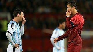 Cristiano Ronaldo ve Leo Messi'nin Duyğusal Anları