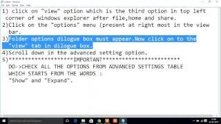 External Hard Drive not showing folders but showing memory space