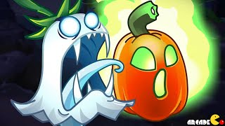 Plants Vs Zombies 2: Halloween Plants Jack O' Lantern Trailer!
