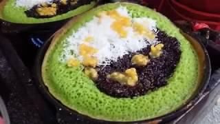 MALAYSIAN STREET FOOD | APAM BALIK | PULUT HITAM | PART 10 | 马来西亚街边小食