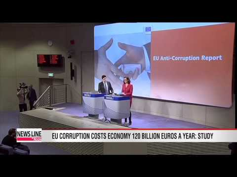Corruption costs EU 120 billion euros a year: European Commission