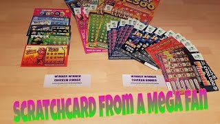 SCRATCHCARDS FROM A MEGA FAN