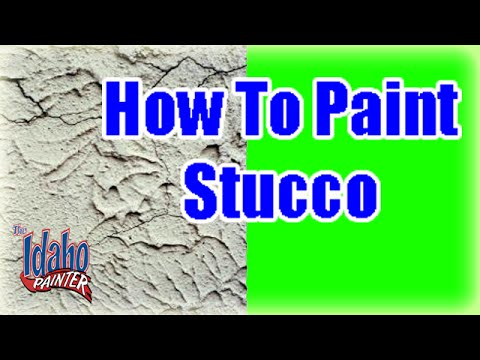 Painting Stucco.  Adding accent colors to stucco trim.