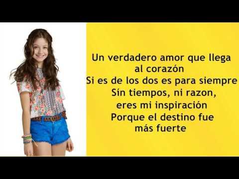 Luna - Solo Para Ti (Letra) - Soy Luna