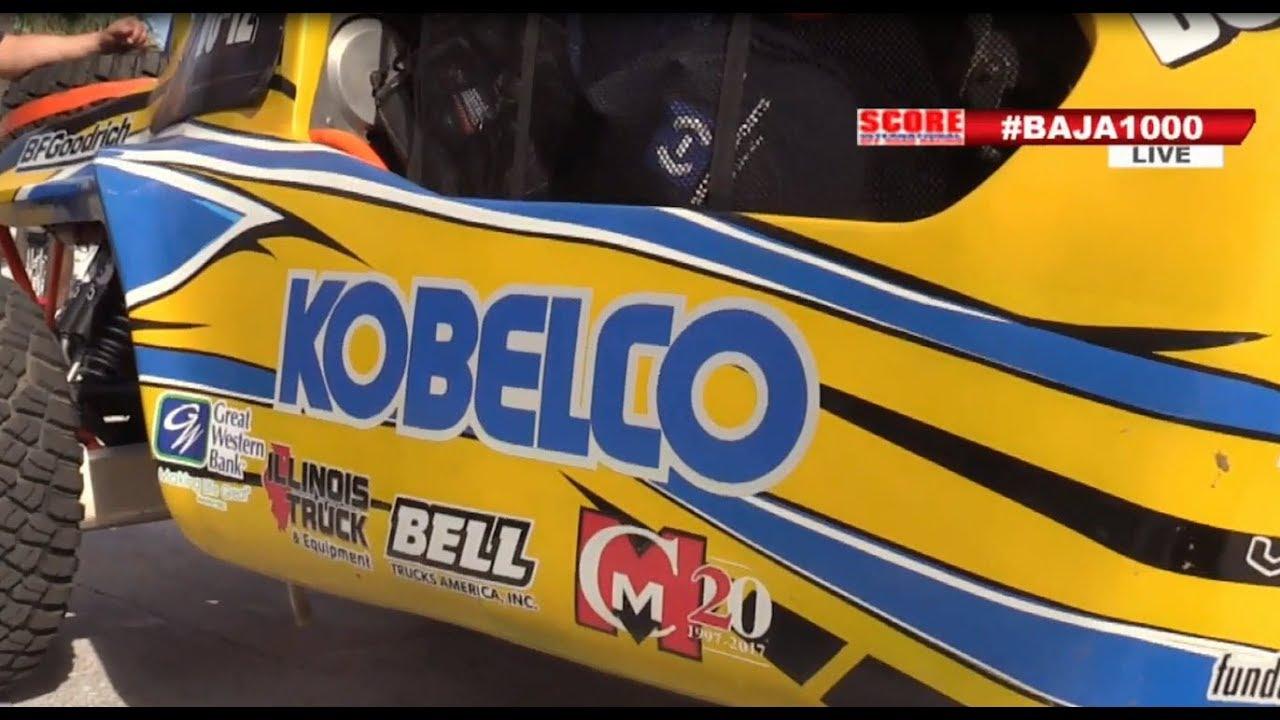 2 KOBELCO Dealers entered THE BAJA 1000 & WORLD CHAMPIONSHIP DESERT RACE