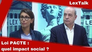 Loi PACTE : quel impact social ?