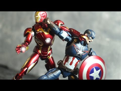 CIVIL WAR The Stop Motion Movie