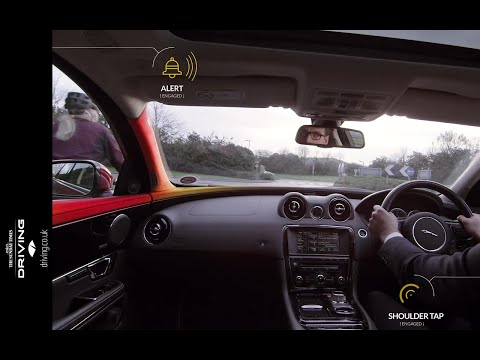 """Bike Sense"" from Jaguar Land Rover detects cyclists and alerts drivers"