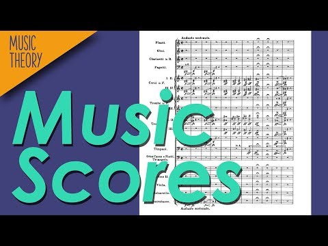 How To Read Music Scores – Music Theory Crash Course