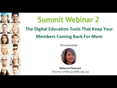Membership Growth Online Summit Day 2: The Education Tools That Keep Members Engaged