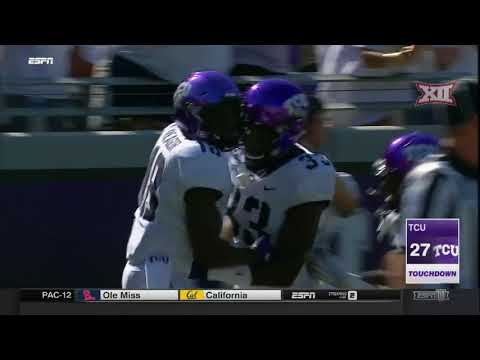 TCU vs. SMU Football Highlights