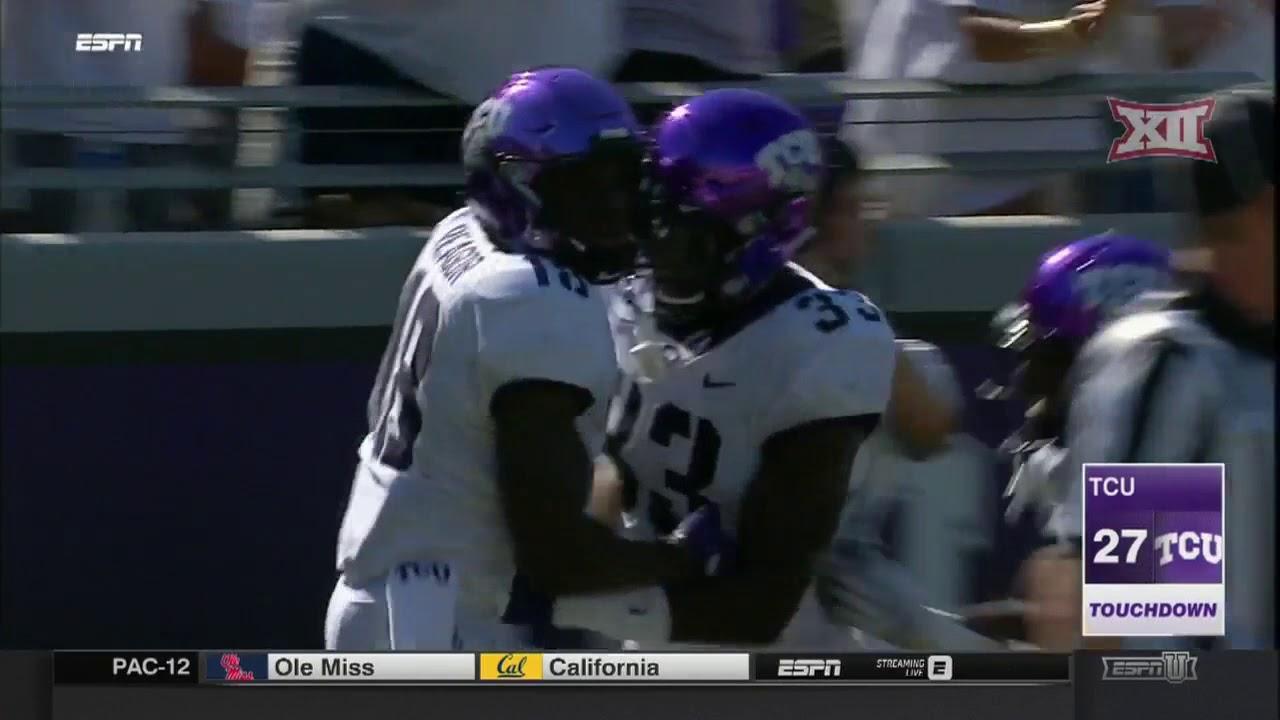 e6c16725a7 TCU vs. SMU Football Highlights - YouTube