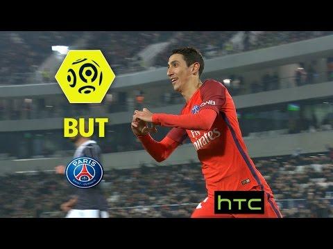 But Angel DI MARIA (40') / Girondins de Bordeaux - Paris Saint-Germain (0-3) -  / 2016-17