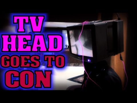 📺 TV Head at Comic (Anime) Con NDK 2017 - Cosplay Debut