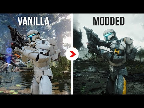 Star Wars Battlefront II Fully Modded 4K | Best Graphics Mods 2020