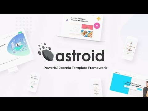 Astroid Framework  -   Powerful Joomla Template Framework