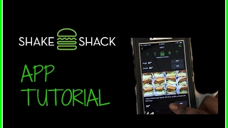 Shake Shack App Tutorial