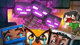 SPAWNING IN THE WITHER WAS A BAD IDEA! - Minecraft