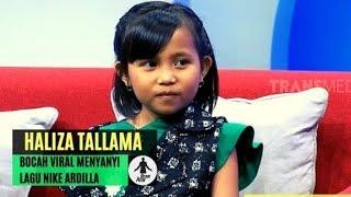 Haliza, Bocah Viral Menyanyikan Lagu NIKE ARDILLA | HITAM PUTIH (23/10/19) Part 2