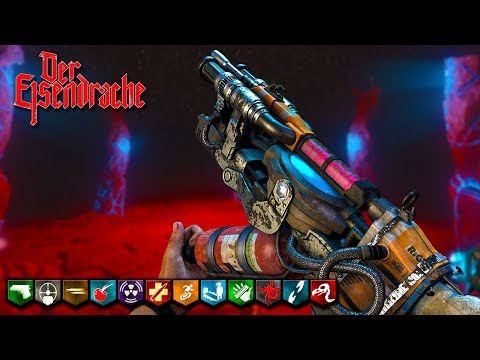 'Der Eisendrache' BOSS FIGHT WITH BO2 WONDER WEAPONS! (Call of Duty Black Ops 3 Zombies)