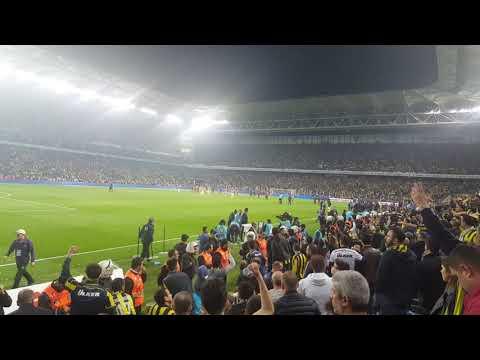 Maç sonu Ali Koç tezahüratları | Fenerbahçe 0-0 Galatasaray 17.3.2018