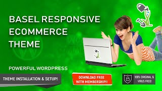 Basel Responsive eCommerce/Woocommerce Wordpress Theme | Installation and demo import full tutorial