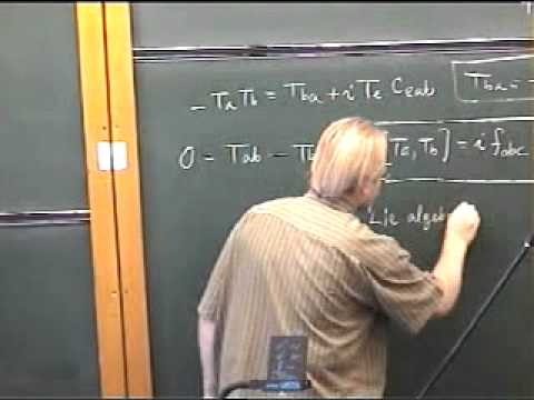 Group Theory, Robert de Mello Koch | Lecture 2 FULL