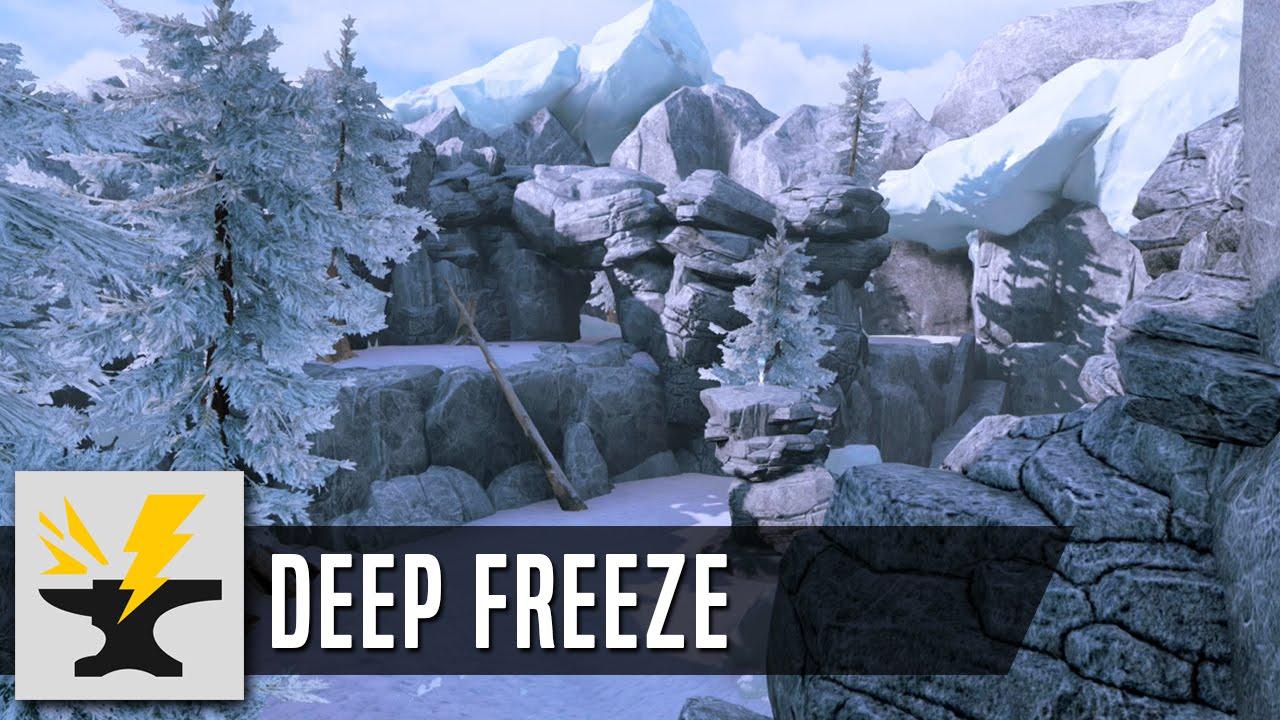 Deep Freeze - Halo 5 Forge Map