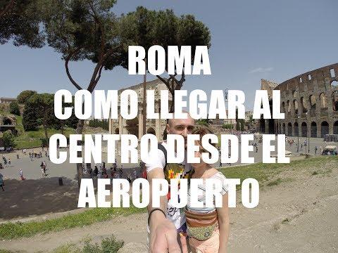 Cómo Llegar desde el Aeropuerto de Ciampino al Centro de Roma - Guía de Viaje Roma