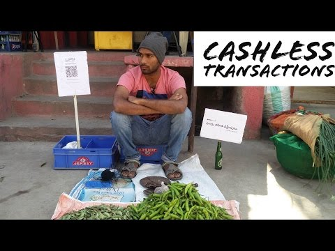 Villagers react to cashless transactions | Bhim app
