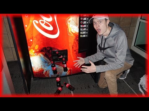 Thumbnail: GET FREE COCA COLA FROM ANY VENDING MACHINE! (Life Hacks You Should Know)