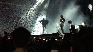 "Bring Me The Horizon ""I Apologise If You Feel Something"" intro & Mantra live Alexandra Palace, Ldn"