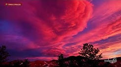 Fire in the sky: Colorado rings in February with epic sunset