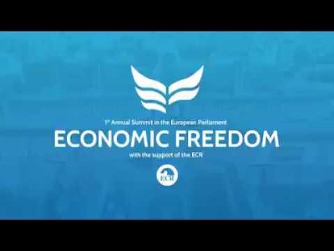 "Gloria Alvarez 1st Annual Summit in the European Parlament about ""Economic Freedom"""