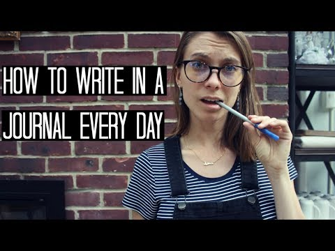 How to Journal Every Day (+journaling pep talk!)