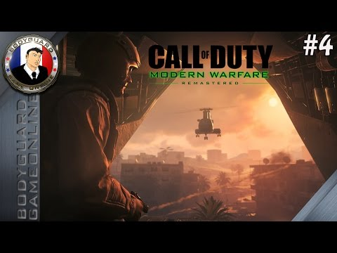Call of Duty Modern Warfare Remastered 2016 (COD 4) Campagne FR #4 1080P60Fps