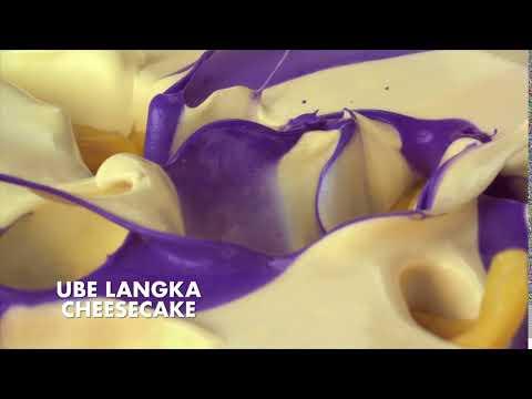 SELECTA UBE LANGKA CHEESECAKE