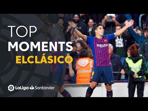 ElClásico: Dominio azulgrana en el Camp Nou