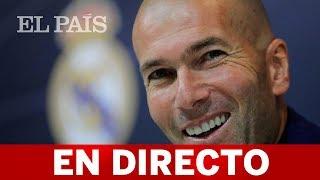 ZINEDINE ZIDANE vuelve como entrenador del REAL MADRID